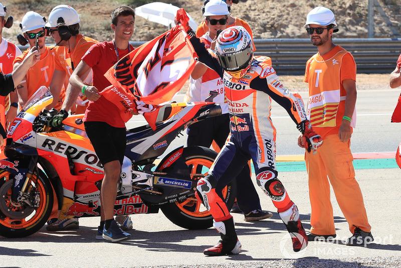 GP de Aragón: Marc Marquez, Repsol Honda Team