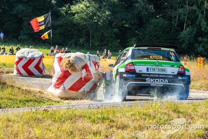 Калле Рованперя и Йонне Халттунен, Škoda Fabia R5