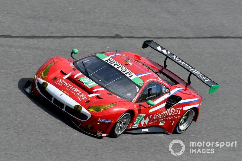 /#51 Spirit of Race Ferrari 488 GT3, GTD: Paul Dalla Lana, Pedro Lamy, Mathias Lauda, Daniel Serra