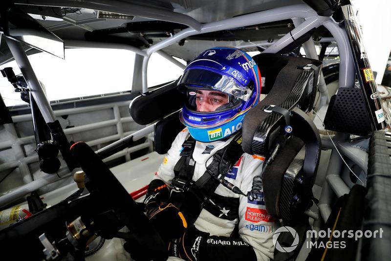 Fernando Alonso dans la NASCAR