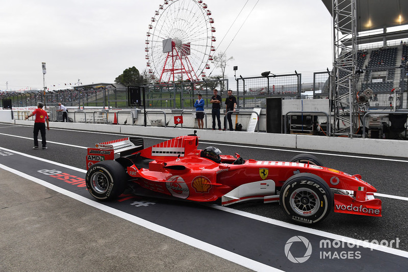 Ferrari at Legends F1 30th Anniversary Lap Demonstration