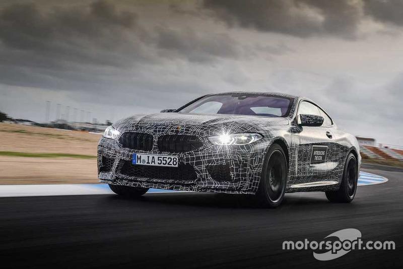 Prototype BMW M8 2019