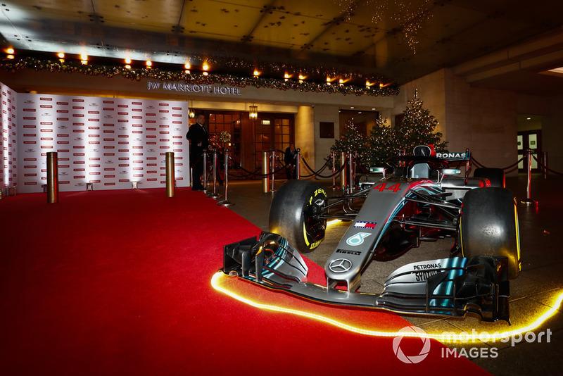 El auto Mercedes F1