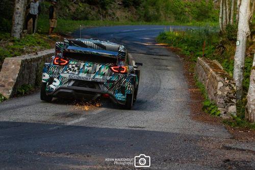 Ford Puma Rally1 test