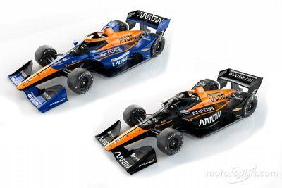 Arrow McLaren SP - Prezentacja