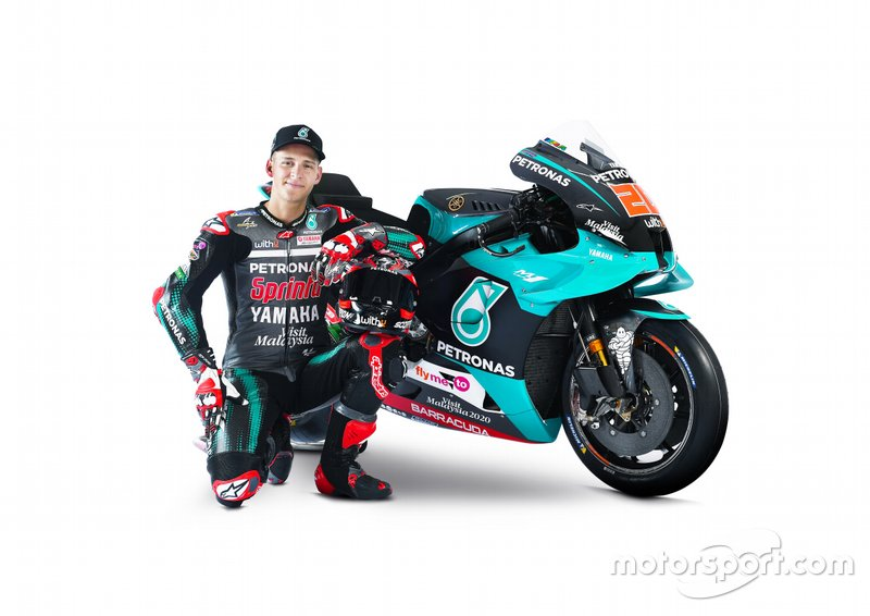 Presentazione Petronas Yamaha SRT