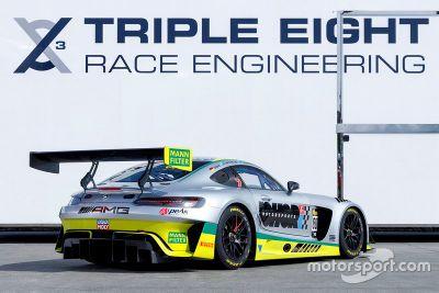 Presentazione Mercedes Triple Eight per Bathurst