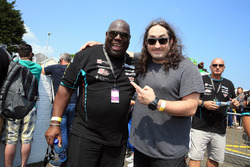 Carl Cox and Ross Noble