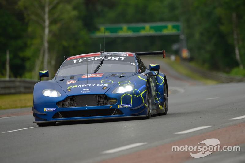 52. Салих Йолук, Эван Алерс-Хонки, Чарльз Иствуд, TF Sport, Aston Martin Vantage GTE (№90)