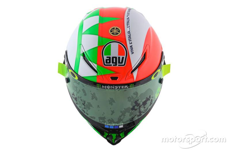 Шлем Валентино Росси, Yamaha Factory Racing