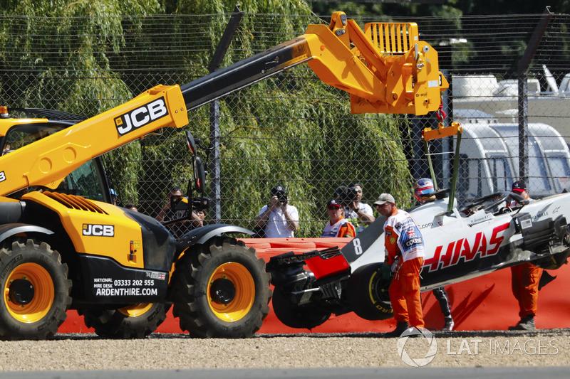 Ромен Грожан, Haas F1 Team,