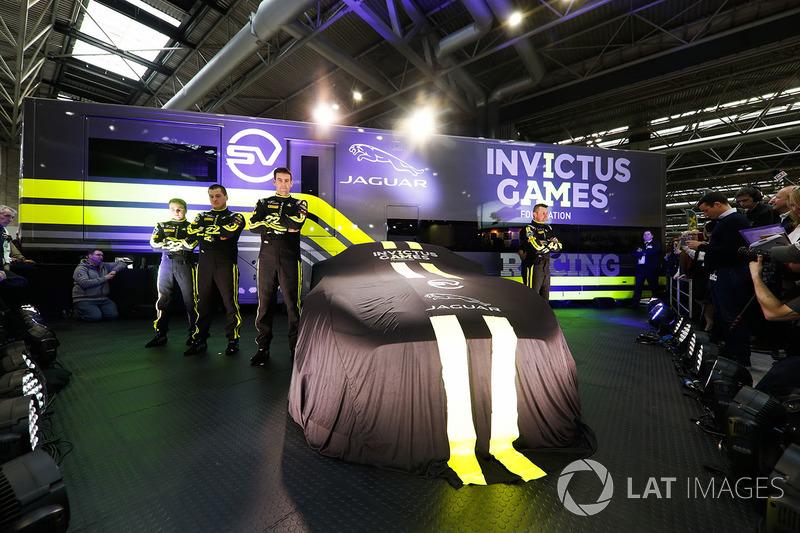 The Invictus Games Jaguar F-Type GT4