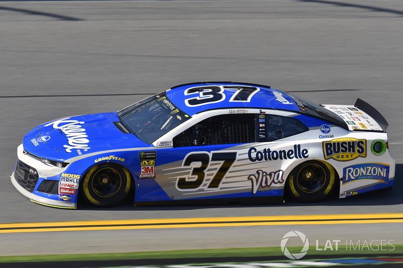 21. Chris Buescher, No. 37 JTG Daugherty Racing Chevrolet Camaro