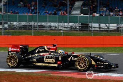 Silverstone juli test