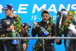 Podium LMGTE Am : les vainqueurs Julien Andlauer, Proton Competition, Patrick Dempsey, Dempsey Proton Competition