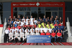 Drivers group photo, FIA World Day of remberance for road traffic victims,