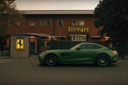 Mercedes AMG GT-R в Маранелло