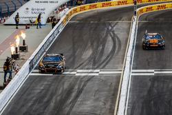Petter Solberg and Josef Newgarden driving the Whelen NASCAR