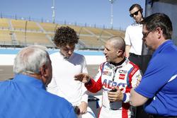 Tony Kanaan, A.J. Foyt Enterprises Chevrolet, Matheus Leist, A.J. Foyt Enterprises Chevrolet, mit A.J. Foyt