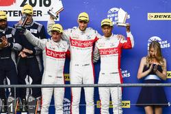 Podium: #46 Thiriet by TDS Racing Oreca 05 - Nissan: Pierre Thiriet, Mathias Beche, Ryo Hirakama