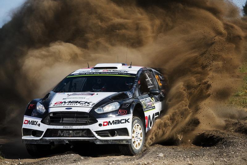 Отт Тянак и Райго Мольдер, DMACK World Rally Team