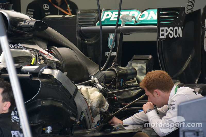 Detail Heck, Mercedes AMG F1 Team W07