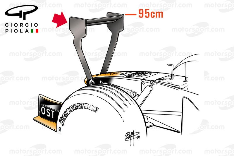 Vue avant de l'Arrows A22 au GP de Monaco