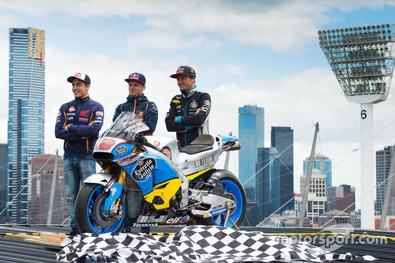 Jack Miller, Estrella Galicia 0,0 Marc VDS, Marc Marquez, Repsol Honda Team, Brad Binder, Red Bull KTM Ajo