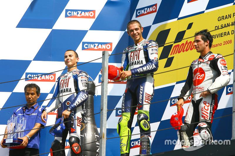2008 : Valentino Rossi (Fiat Yamaha Team)