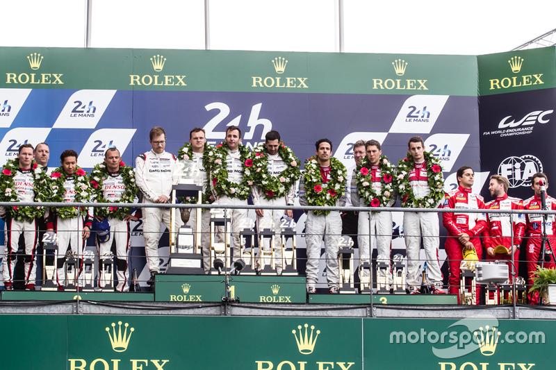 24h Le Mans: Podium