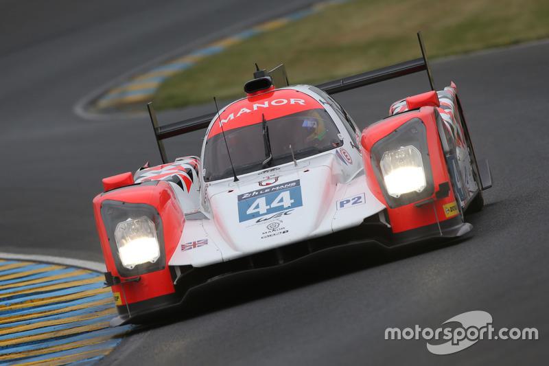 #44 Manor, Oreca 05 - Nissan: Tor Graves, Matt Rao, Roberto Merhi