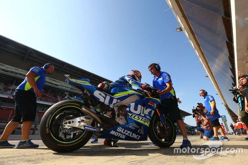 #10: Maverick Vinales, Team Suzuki Ecstar MotoGP