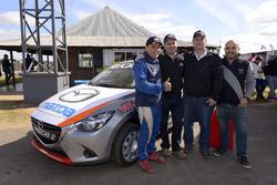 Alexis Castro, Rafael Fernández, Marcelo Burghi y Jorge Raineri