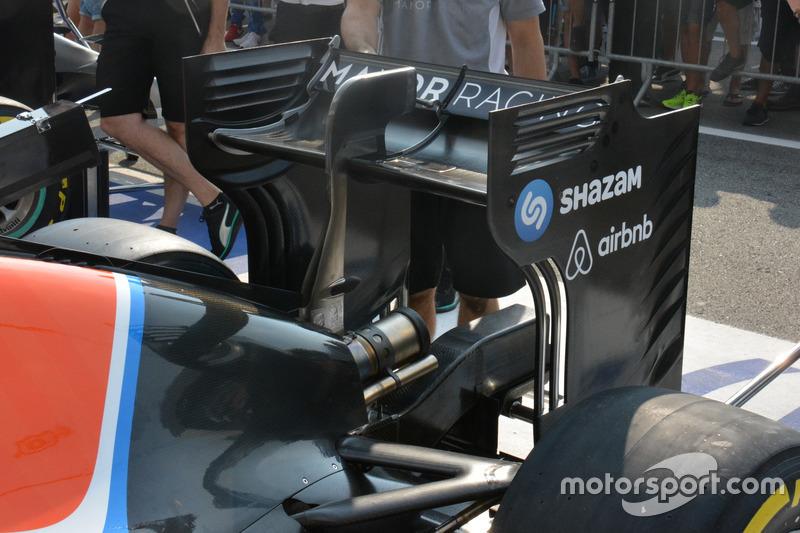 Manor Racing MRT05, заднее антикрыло