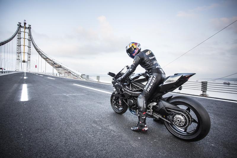 Kenan Sofuoglu, Kawasaki Ninja H2R, Osmangazi Köprüsü rekor denemesi