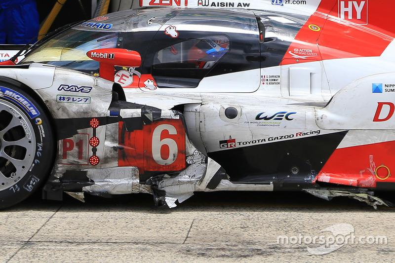 Стефан Сарразен, Майк Конвей, Камуи Кобаяши, Toyota Gazoo Racing, Toyota TS050 Hybrid (№6)