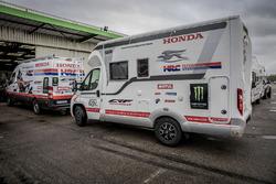 Monster Energy Honda Team support