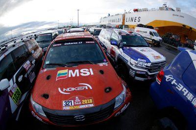 Teams transport naar Lima