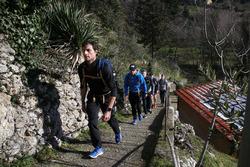 Bruno Spengler, Augusto Farfus and Marco Wittmann, Hiking