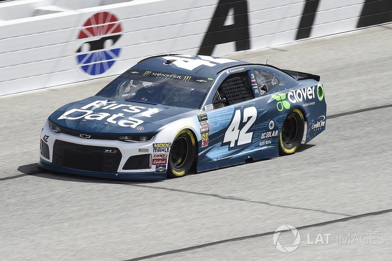 8. Kyle Larson, No. 42 Chip Ganassi Racing Chevrolet Camaro