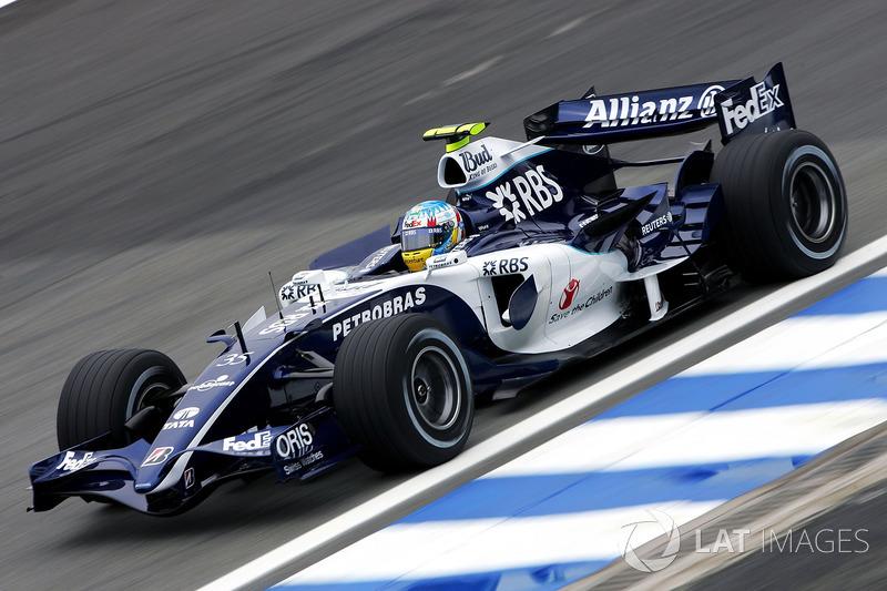Alex Wurz, Williams FW28 Third Driver