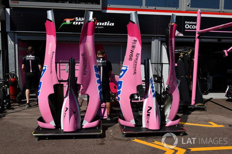 Force India VJM11, carrozzeria