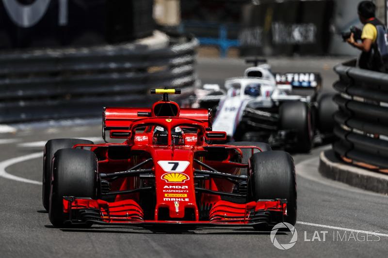 4: Kimi Raikkonen, Ferrari SF71H, 1'11.266