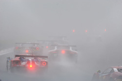 Track action with fog
