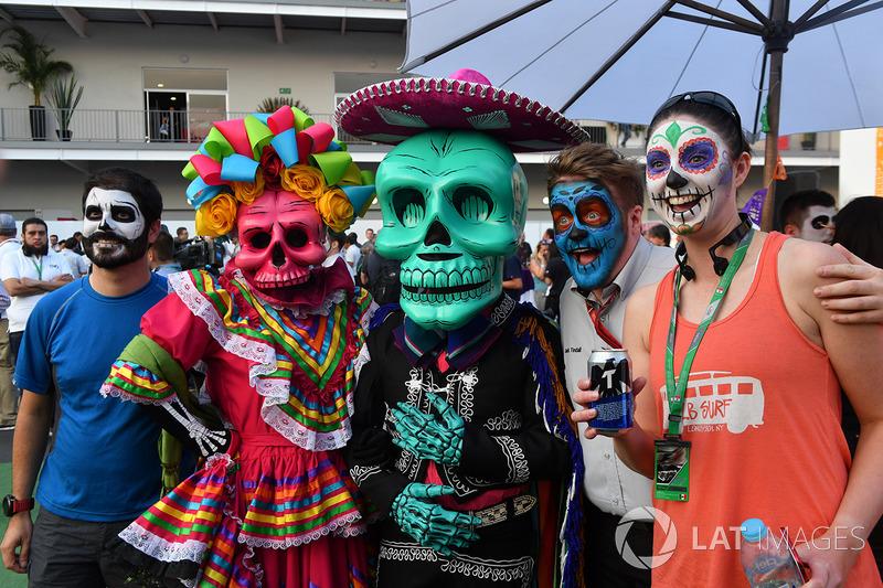 Caracterizaciones del Día de Muertos