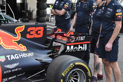 Achterzijde Red Bull Racing RB13