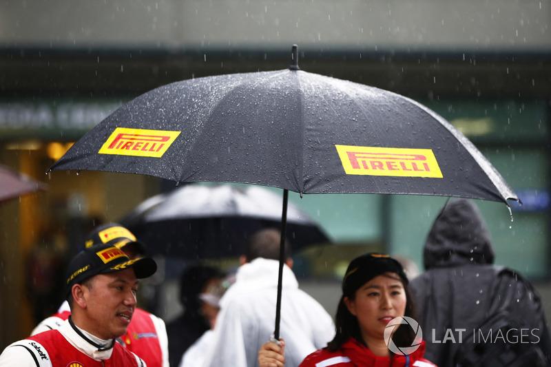 Pirelli umbrella