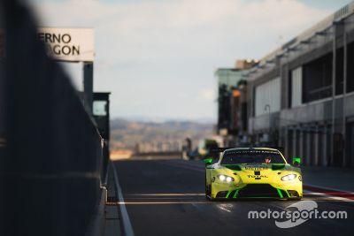 Aston-Martin-Test in Aragon