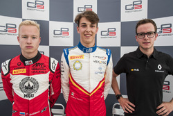 Nikita Mazepin, ART Grand Prix, le poleman Leonardo Pulcini, Campos Racing, Anthoine Hubert, ART Grand Prix