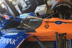 Scott Dixon, Chip Ganassi Racing Honda prova il nuovo aeroscreen
